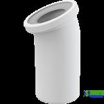 Коліно для унітаза ALCA PLAST A90-22