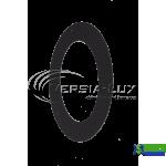 Розета під 45 із чорного металу Д180 Versia-Lux