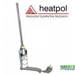 Тен для рушникосушки прямий хром Heatpol GTM 600W GTM 0.6N
