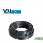 Труба VALROM 50х2,4 ПЕ PN8 Чорна