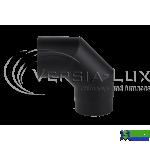 Коліно 90 із чорного металу Д160 Versia-Lux