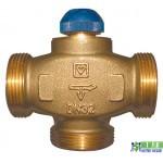 "Клапан термостатичний 3-х ходовий HERZ CALIS-TS-RD 1""1/4 (DN32)"