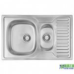 Кухонна мийка ULA 7301 ZS Satin сифон ULA