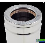Труба нержавійка в нержавійці Versia Lux L=1м н/н 0,8мм Д120/180