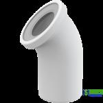Коліно для унітаза ALCA PLAST A90-45