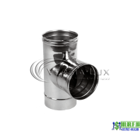 Трійник одностінний Versia Lux 90, 0,6мм Д110
