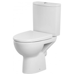 Унітаз CERSANIT PARVA 011 3/6л з сидінням дюропластів