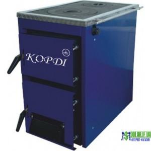 Котел твердопаливний Корді АКТВ 16 кВт (з плитою)