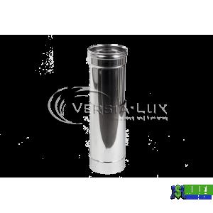 Труба-подовжувач наржавійка L=0,5-1м, 0,6мм Д120