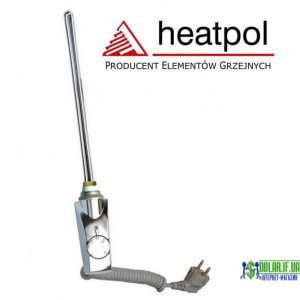 Тен для рушнокусушки прямий хром Heatpol GTM 300W GTM 0.3N