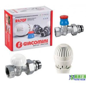 комплект для підключення радіаторів, прямий GIACOMINI R470FX013