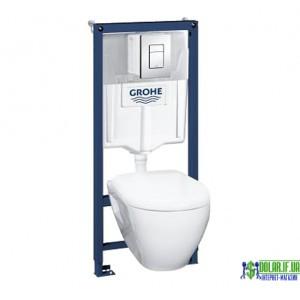 Інсталяційна система Grohe Solido +унітаз підвісний+сидіння slow-closing (39186000)