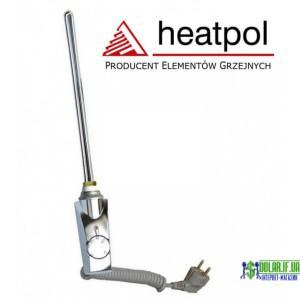 Тен для рушникосушки прямий хром Heatpol GTM 900W GTM 0.9N