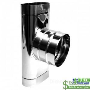 Трійник овальний Versia Lux 87 1мм 110х220 ф180