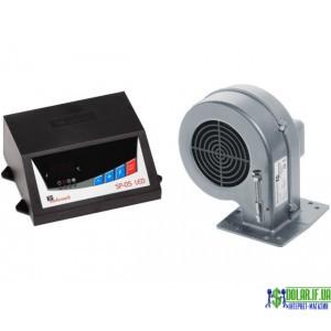 Контролер твердопаливного котла KG Elektronik SP05 LED + DP02