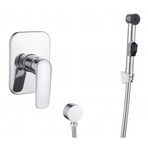 Змішувач прихованого монтажу з гігієнічним душем IMPRESE PRAHA new VR15030Z-ВТ