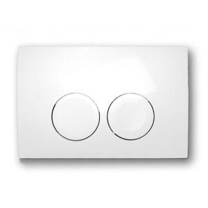 Кнопка змиву GEBERIT Delta біла 115.125.11.1