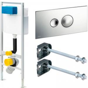Інсталяція VIEGA Standard 2S 713386 кнопка змиву Visign for Style 10 (596323)