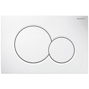 Кнопка змиву GEBERIT Sigma 01 білий 115.770.11.5