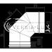 Коліно одностінне Versia Lux 90, 0,8мм Д120